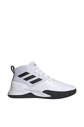 adidas OWNTHEGAME Beyaz Erkek Basketbol Ayakkabısı 100663970 0