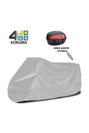 KalitePlus Triumph Bonneville Newchurch Special Edition Arka Çanta Uyumlu Motosiklet Örtü Branda 2