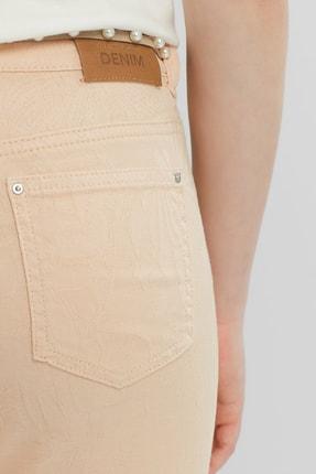 Yargıcı Kadın Somon Beş Cep Pantolon 9KKPN3122X 4