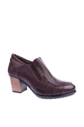 Mammamia Kahverengi Kadın Topuklu Ayakkabı 1