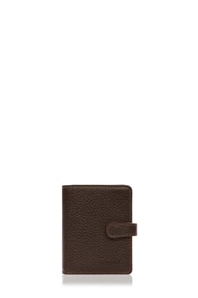 Cengiz Pakel Kahverengi Deri Kartlık 2427 0