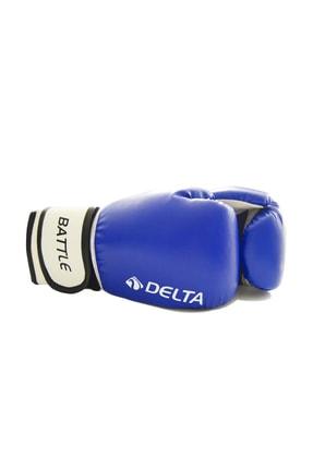 Delta Battle Dura-Strong Mavi-Beyaz Boks Eldiveni 3