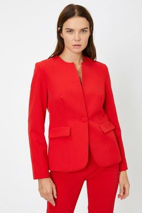 Koton Kadın Cep Detaylı Ceket 3