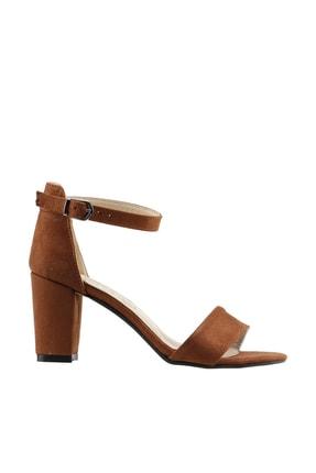 Ayakland Kahverengi Kadın Topuklu Ayakkabı  19YAYAYK0000075 0