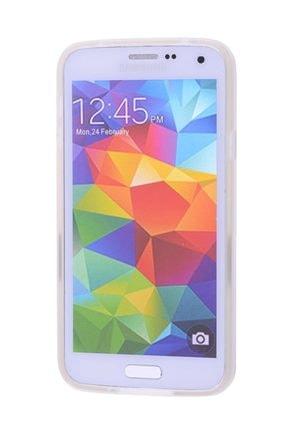 Ally Mobile Ally Galaxy S5 I9600 G900 Standlı Silikon Kılıf Şeffaf 1