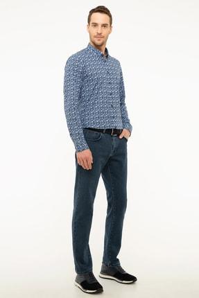 Pierre Cardin Lacivert Slim Fit Denim Pantolon 1