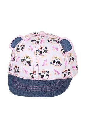 تصویر از 0-18 Aylık Kız Sapka Beyaz Şapka