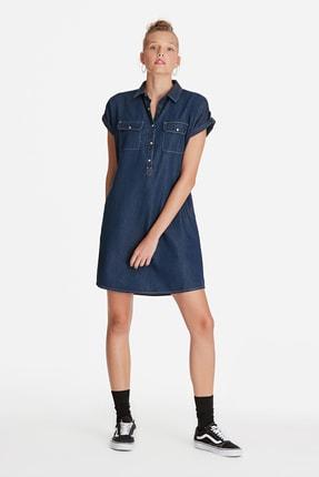 Mavi Kadın Barbara Lux Touch Lyocell Jean Elbise 130548-28636 0