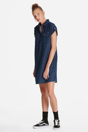 Mavi Kadın Barbara Lux Touch Lyocell Jean Elbise 130548-28636 2