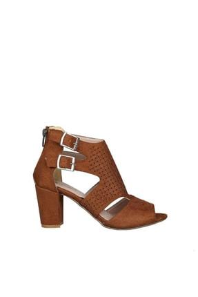 PUNTO Taba Kadın Klasik Topuklu Ayakkabı 19Y423B0049-16 0