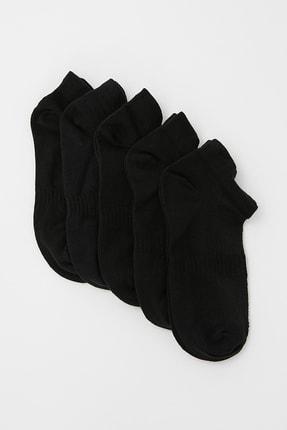 Picture of 5'li Siyah Spor Örme Çorap TWOAW20CO0011