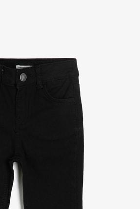 Koton Siyah Cep Detaylı Erkek  Çocuk Jean Pantolon 0YKB46277DD 2
