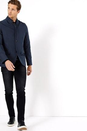 Erkek Lacivert Blazer Ceket T16007105A
