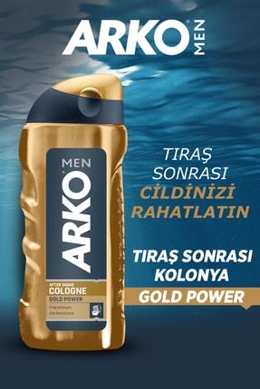 Arko Men Men Gold Power Tıraş Kolonyası 2x250ml 1