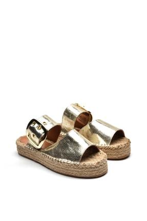Jeep Ayakkabı Altın Kadın Terlik 9Y2MAJ0058 1