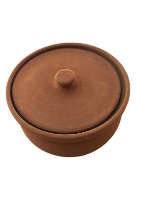 ALİ BABA CÖMLEK Pişirilmiş Turuncu Toprak Kücük Güveç 3-4 Kişilik 1