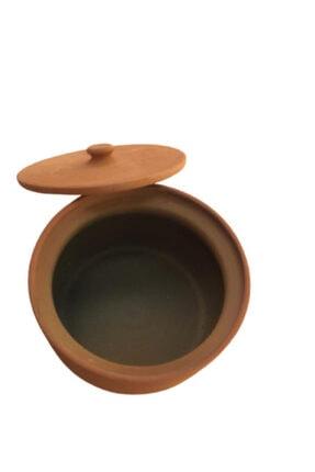 ALİ BABA CÖMLEK Pişirilmiş Turuncu Toprak Orta Güveç 5-6 Kişilik 4
