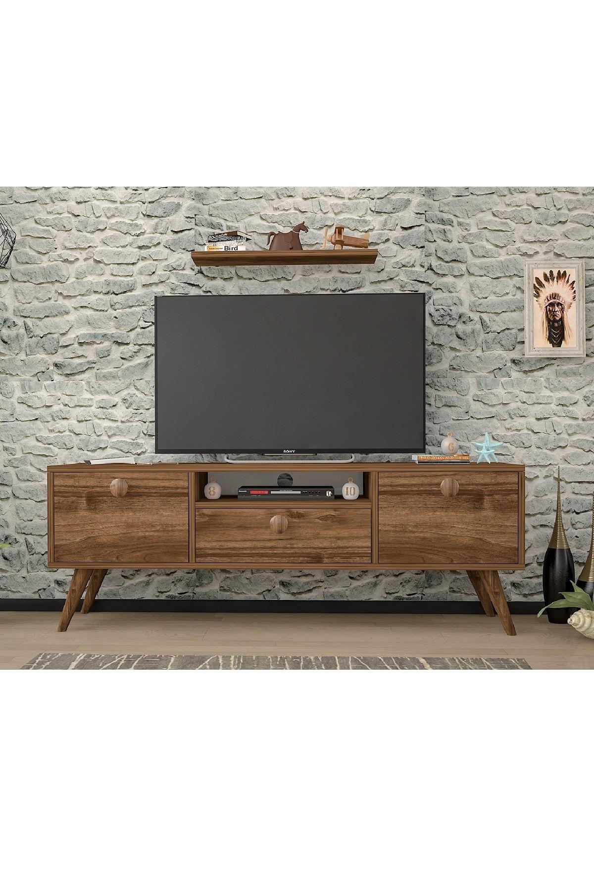 Penta Ceviz 160 Cm Tv Sehpası