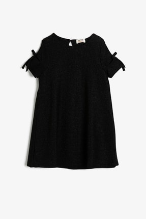 Koton Siyah Kız Çocuk Elbise 0