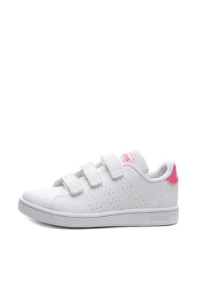 adidas ADVANTAGE Beyaz Kız Çocuk Sneaker Ayakkabı 100481652 0