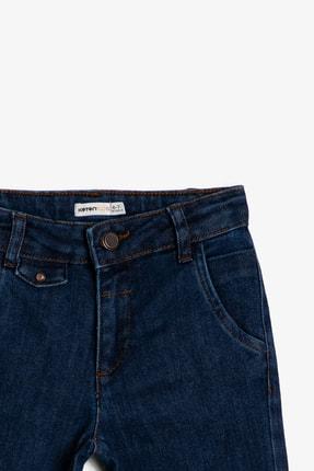 Koton Mavi Erkek Çocuk Cep Detayli Jean Pantolon 2