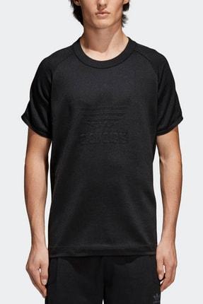 adidas Erkek T-Shirt - Knitted Trefoil Tee - CW1350 0