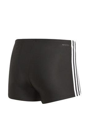 adidas Erkek Siyah Yüzücü Mayo Fıt Boxer 3S DP7533 2