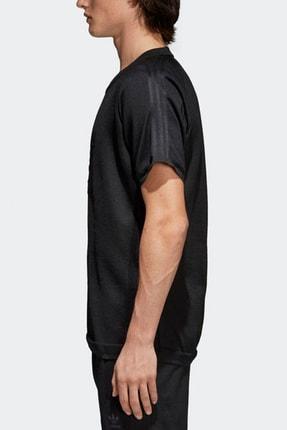adidas Erkek T-Shirt - Knitted Trefoil Tee - CW1350 1