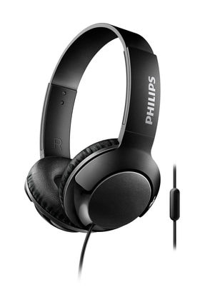 Philips SHL3075BK/00  Bass+ Mikrofonlu Siyah Kulaklık 0