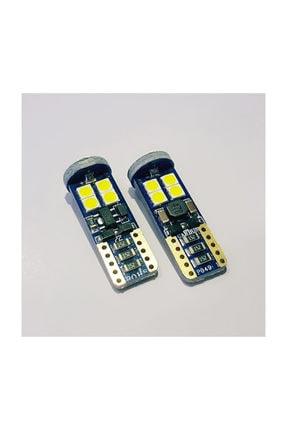 T10 3030 Chip 12ledli 650lumen Turuncu Led Ampul Aktif Canbus T10 Platinum Turuncu