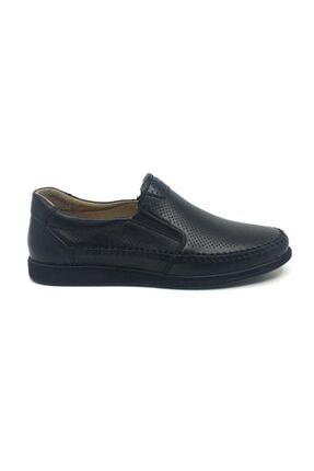 Taşpınar Likers %100 Deri Yazlık Rahat Erkek Ortopedik Rok Ayakkabı 40-44 1