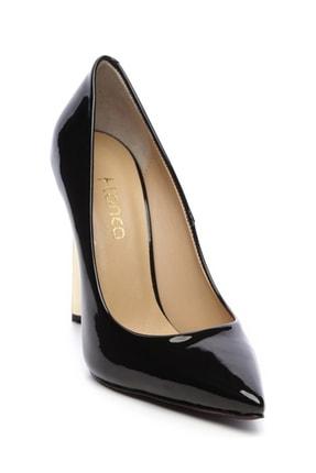 Kemal Tanca Siyah Kadın Vegan Stiletto Ayakkabı 22 6213 BN AYK Y19 2
