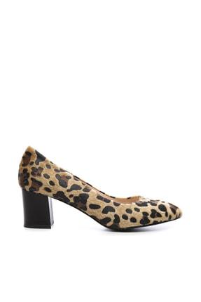 Kemal Tanca Multi Renk Kadın Vegan Klasik Topuklu Ayakkabı 723 100 BN AYK SK19-20 0