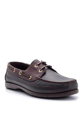 Derimod Hakiki Deri Kahve Erkek Casual Ayakkabı 1