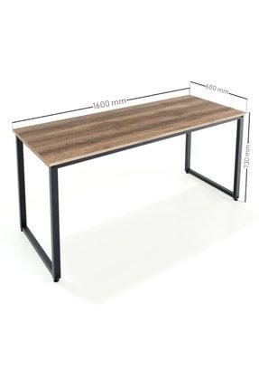 Ceramical Çalışma Masası, Bilgisayar Masası, Ofis Masası (60x160 Cm, Sakremento) 4