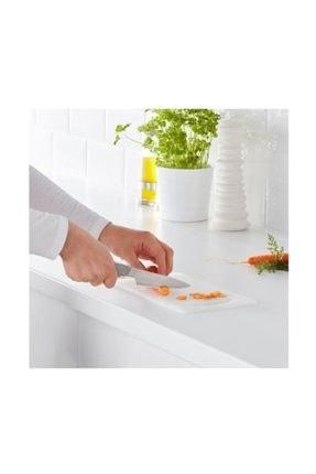 IKEA Hopplös Plastik Beyaz Kesme Tahtası 15x24 cm 2