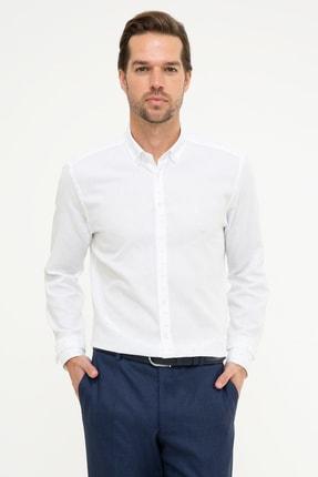 Pierre Cardin Erkek Mavi Slim Fit Gömlek G021GL004.000.989133 0