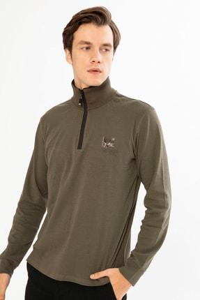 Mcl Giyim Erkek Haki Sweatshirt - 19KE00B26327-23 0
