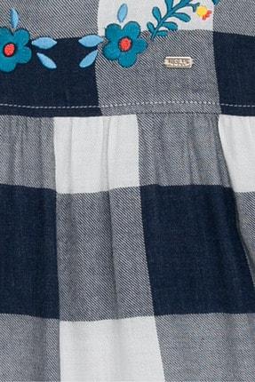 US Polo Assn Lacivert Kız Çocuk Dokuma Gömlek 2