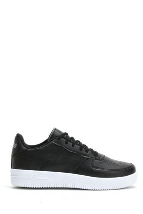 Ayakkabı Modası Siyah Beyaz Kadın Spor Ayakkabı 4000-20-101001 1