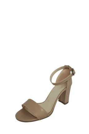 Kadın Kalın Topuklu Ayakkabı 21BY25.153.25.7