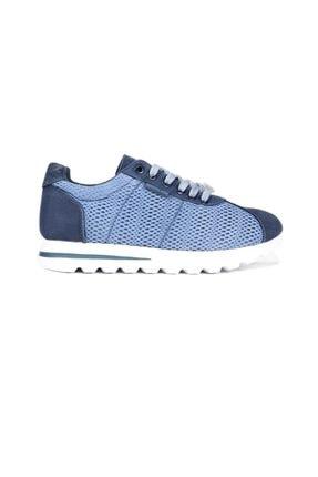Hammer Jack Kot Mavı Kadın Sneaker 188 3100-Z-539 2