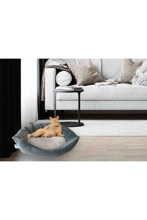 Kedi Yatağı Köpek Yatağı Yavru Kedi Yatağı Yavru Köpek Yatağı Düz Yeşil est01323