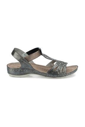 Polaris 161131.Z Antrasit Kadın Sandalet 100509451 1