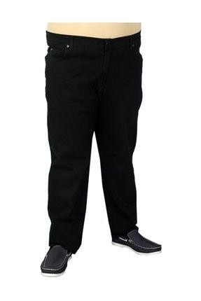 Modexl Büyük Beden Erkek Pantolon Kot Classic 19719 Siyah 0
