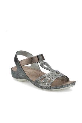 Polaris 161131.Z Antrasit Kadın Sandalet 100509451 0
