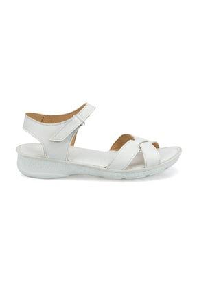 Polaris 103089.Z Beyaz Kadın Sandalet 100509758 1