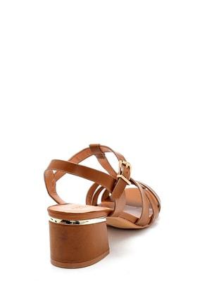 Derimod Kadın Taba Topuklu Sandalet 3