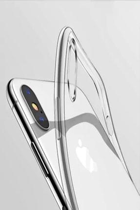 Mopal Iphone Xs Max Şeffaf Silikon Kılıf Tıpalı 2