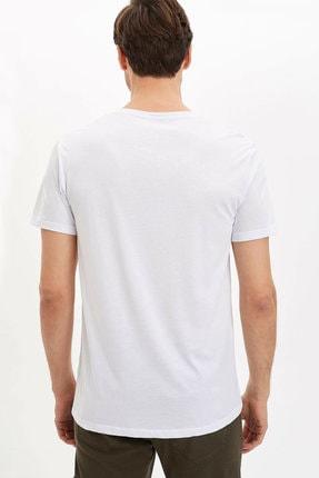 Defacto Bisiklet Yaka Slim Fit Premium Kalite Basic Tişört 3
